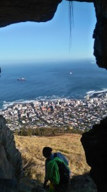 Sea point from the cave