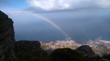Rainbow from Pulpit