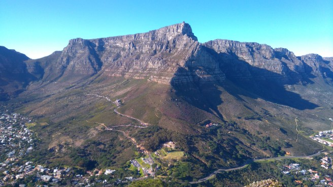 Table Mountain today