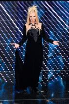 SANREMO, ITALY - FEBRUARY 11: Patty Pravo attends the third night of the 66th Festival di Sanremo 2016 at Teatro Ariston on February 11, 2016 in Sanremo, Italy. (Photo by Venturelli/Getty Images)