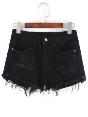 http://www.shein.com/Frayed-Black-Denim-Shorts-p-272201-cat-1740.html?aff_id=6249