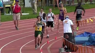 Jacob Holtmeier 800m State Record Run