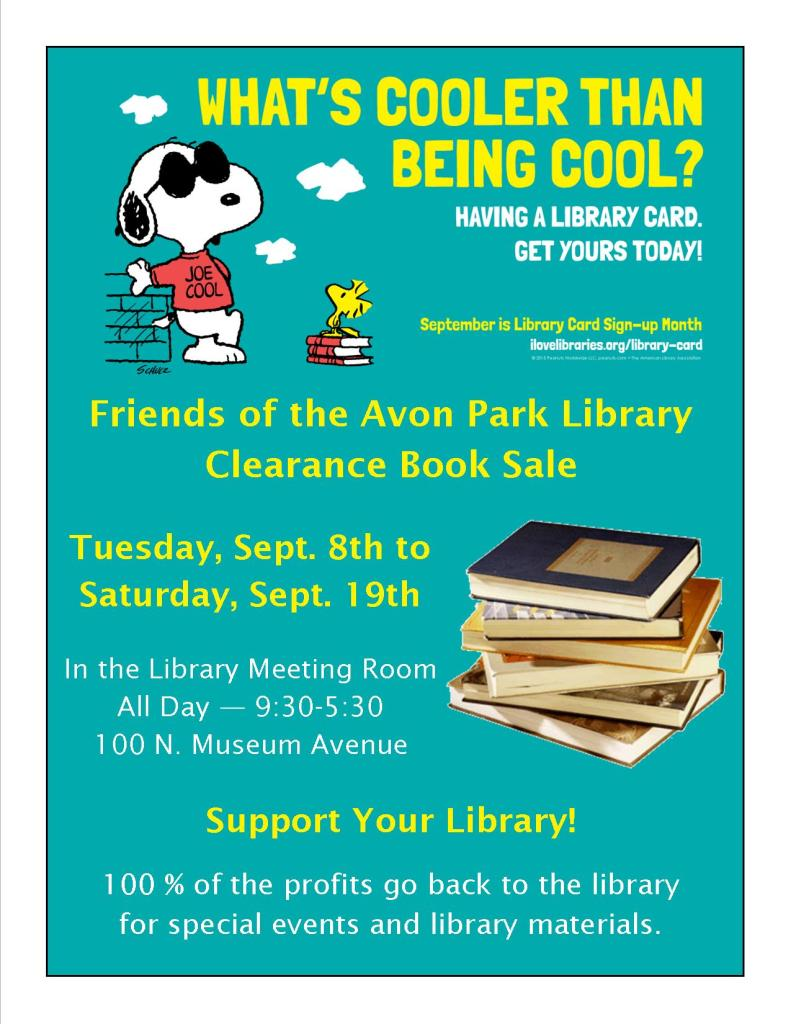 APL Friends Book Sale