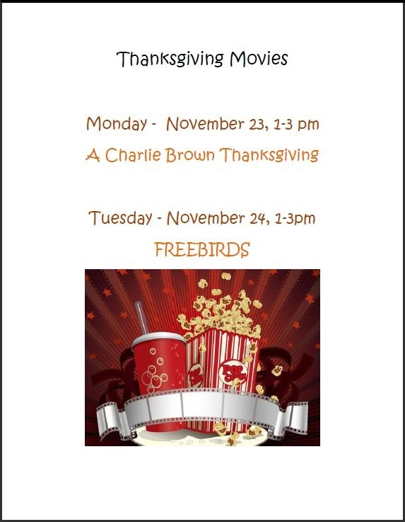 hardee thanksgiving movies