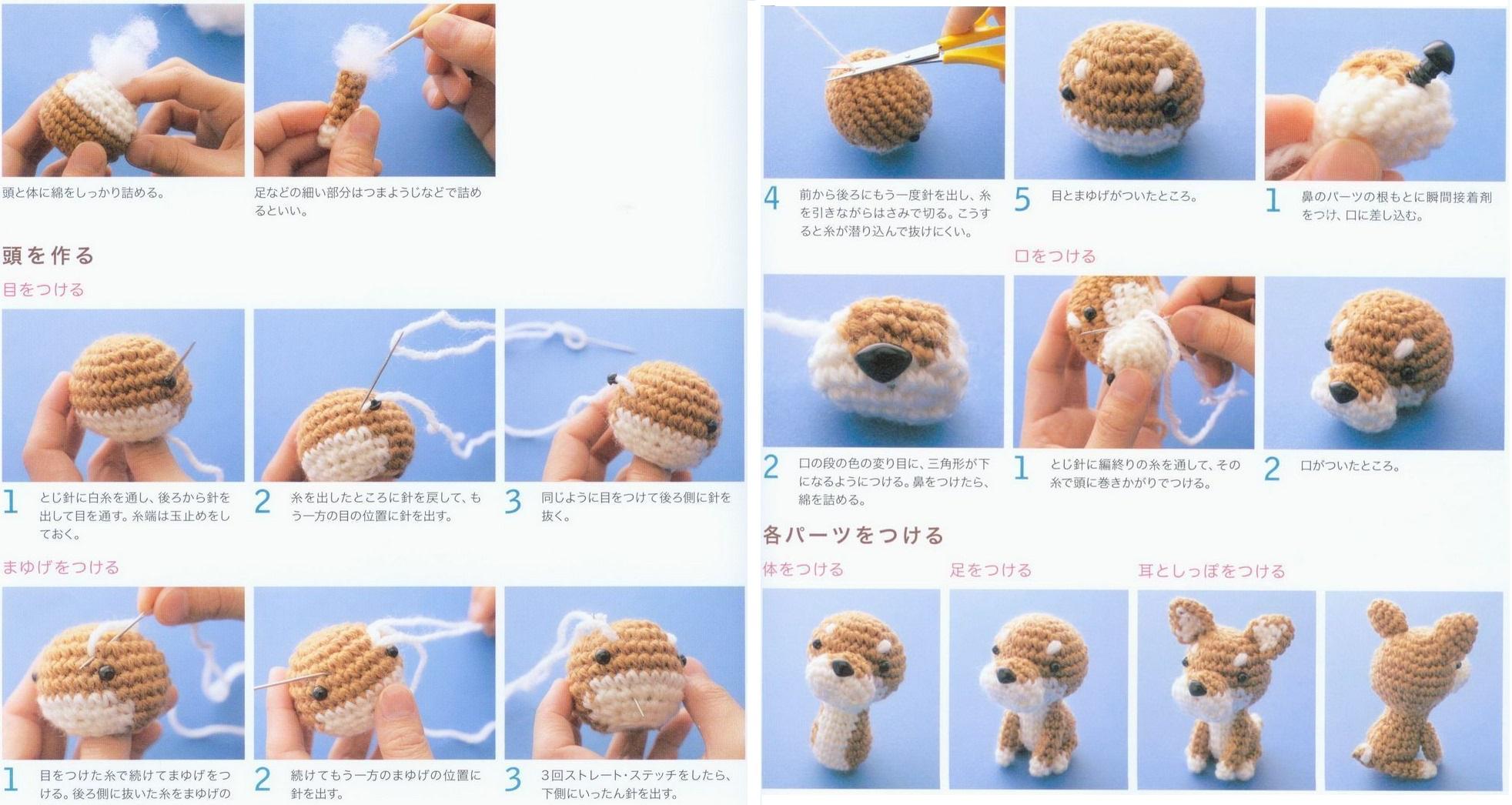 вяжем игрушки крючком пошагово с фото создать