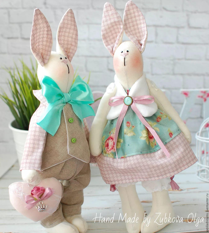самые красивые зайцы тильды фото ему