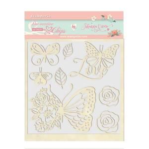 Circle of Love - Johanna Rivero - My Hobby My Art - chipboard mariposas