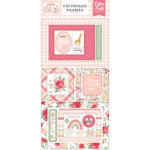 echo park - welcome baby - chipboard frames- my hobby my art - stickers cardstock 2