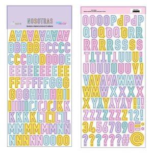 the-mint-feather-nosotras- - adela-silvestre - my hobby my art - alfabeto-abecedario-stickers-chipboard-coleccion-NOSOTRAS-The-Mint-Feather-Basiccrea