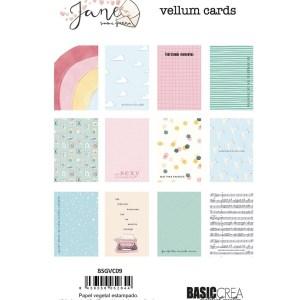 my hobby my art - sami-garra-jane- vellum cards