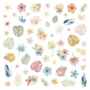 Aloha - Mintopia Studio - Basic Crea - My Hobby My Art - coleccion Aloha - die cuts flores