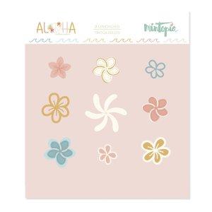 Troquel Mini Flores Tropicales Aloha - Mintopia