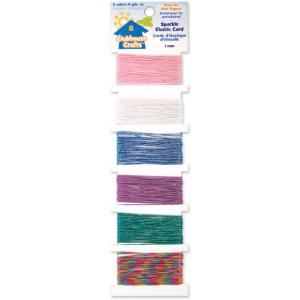 Clubhouse Crafts Elastic Cord - sparkle - my hobby my art 2