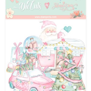 My Hobby My Art - Johanna Rivero - Navidad Rosa - coleccion Navidad - die cuts
