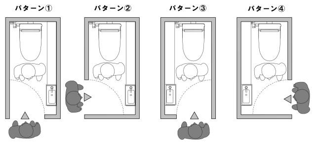 トイレ配置検討図