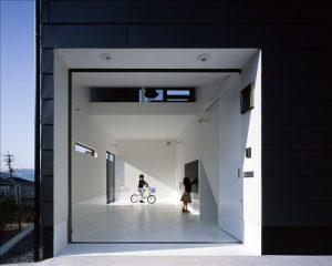 1階駐車場 陸屋根