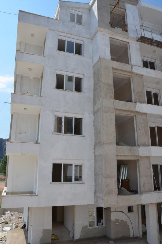 Стройка комплекс Jasmine Riva Коньяалты Анталия Турция июль