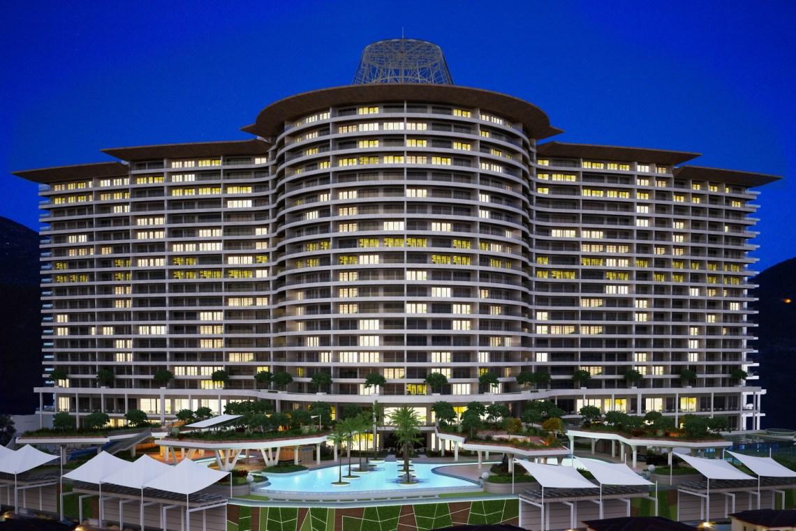 Riviera Imperial Deluxe Hotel Alanya продажа апартаментов в Аланье Турция