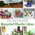 20 Outdoor Upcycled Planter Ideas To Rock Your Front Porch My Home And Travels