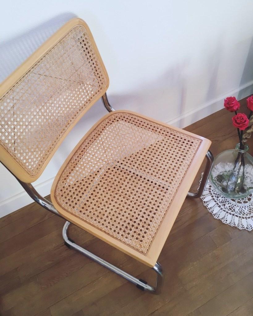 chaise cannage miss pagaille