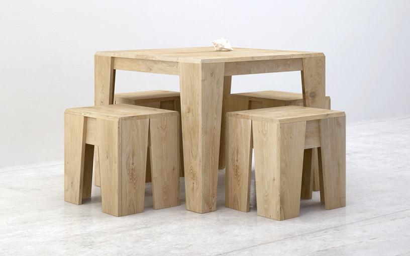 table bois massif BUD