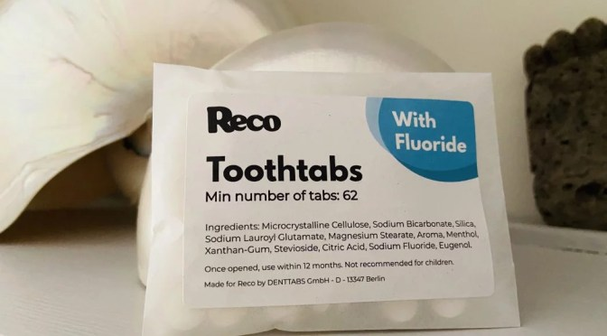 Reco Toothtabs: no more tubes