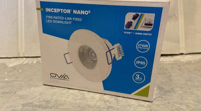 Super easy to install downlights: Interceptor Nano5