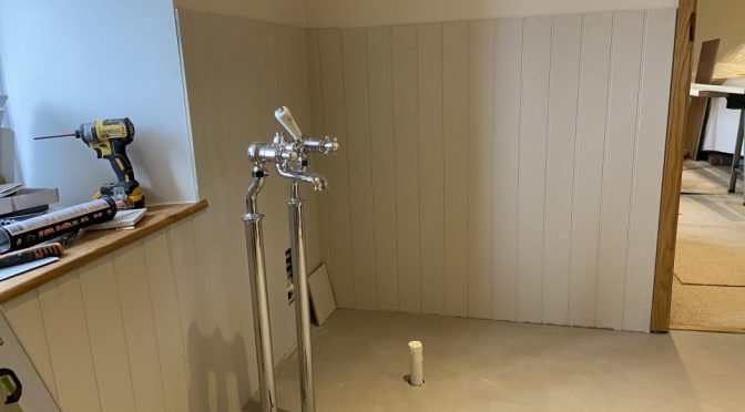 Refitting our master bathroom – Part two