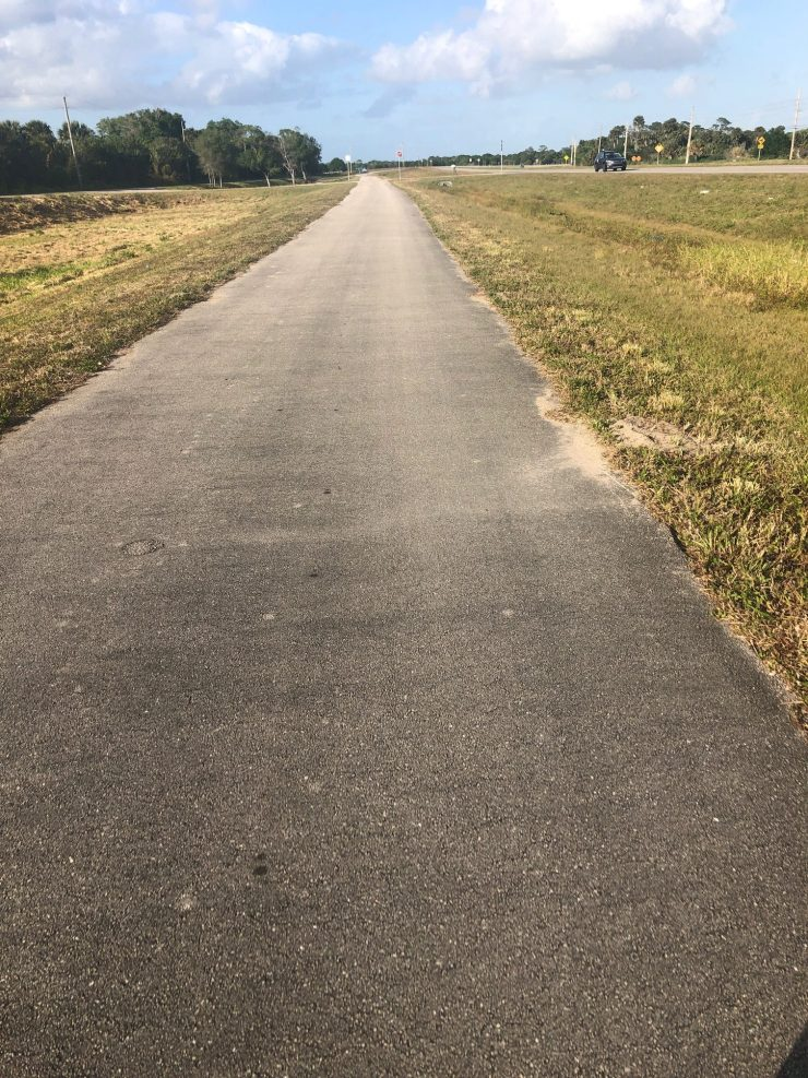 Bike Path on Hwy 70 - Fort Pierce