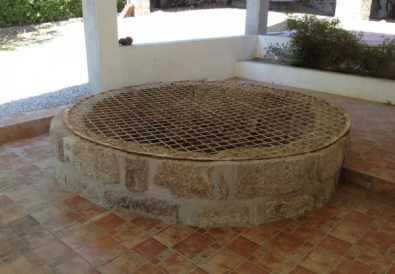 The well before we painted it