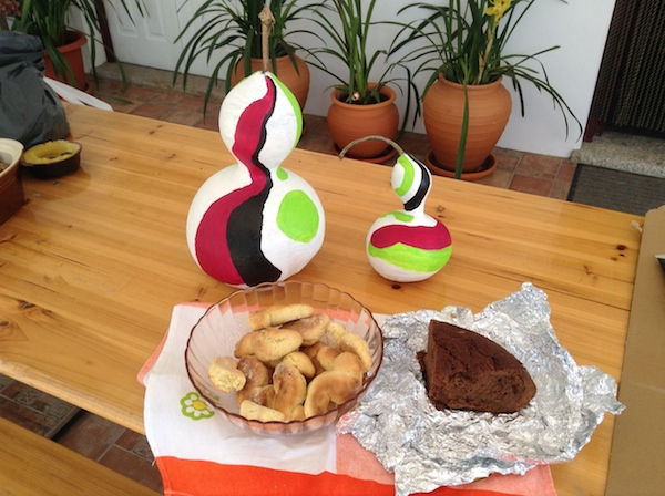 Easter treats from our neighbours