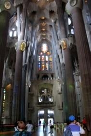 Sagrada Familia - early in the morning