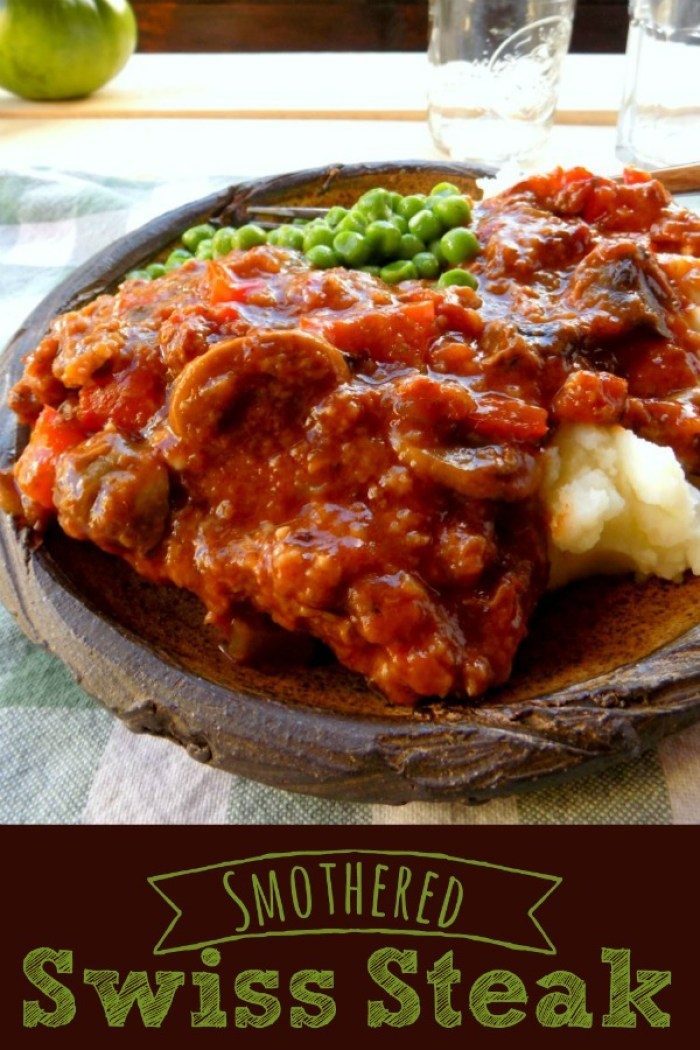 Smothered Swiss Steak - An Old Fashioned Favorite