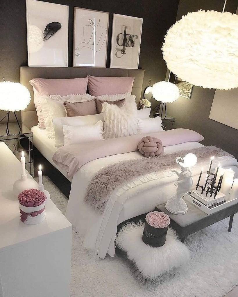 Young female adult bedroom idea