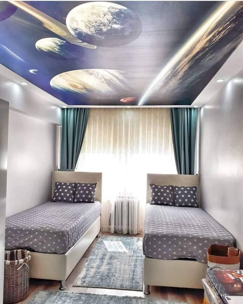 Modern kids bedroom design idea