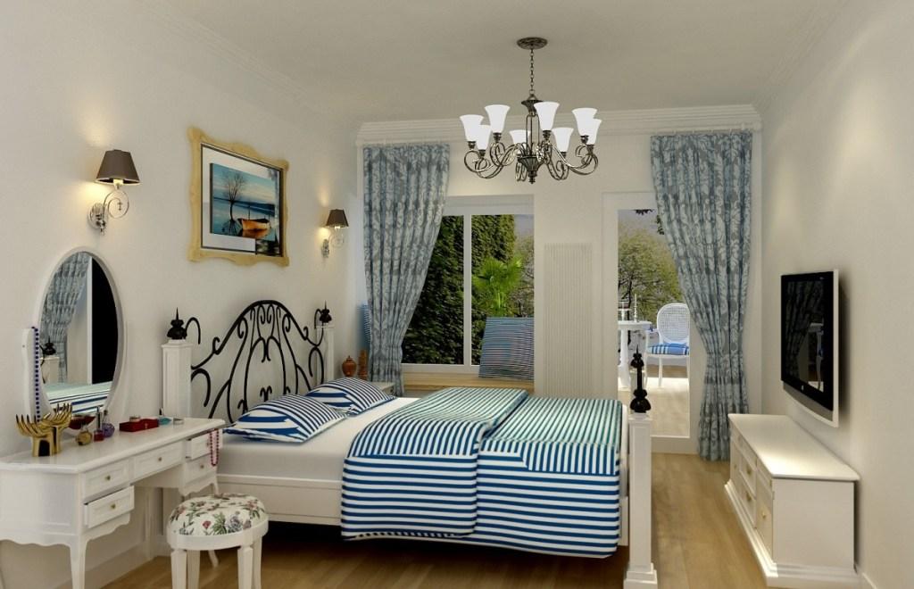 Eastern Mediterranean style bedroom design