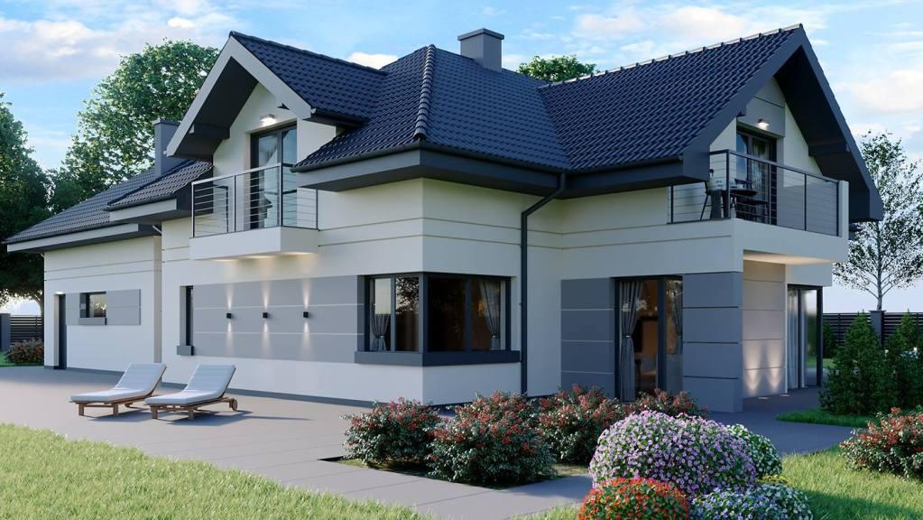 Home exterior design idea — House plan