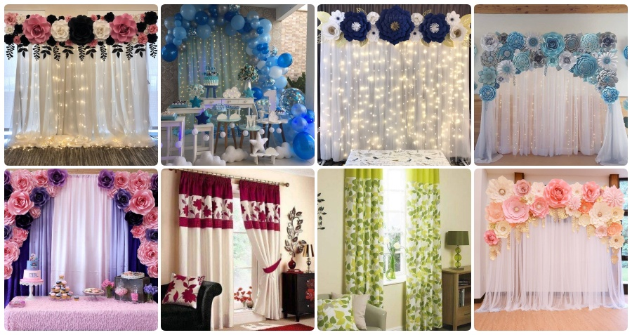 54 bewitching window curtain designs