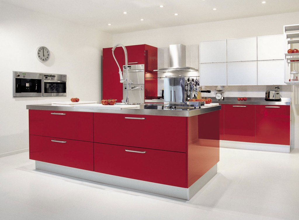 modern looking attractive kitchen design example