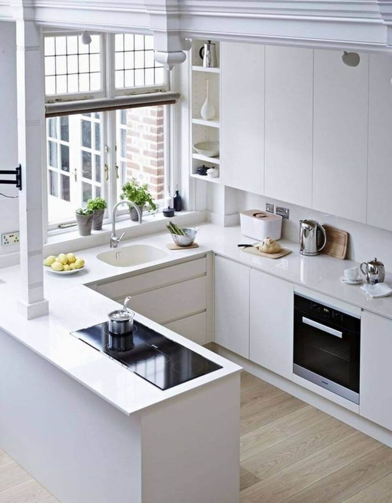 white color kitchen design example