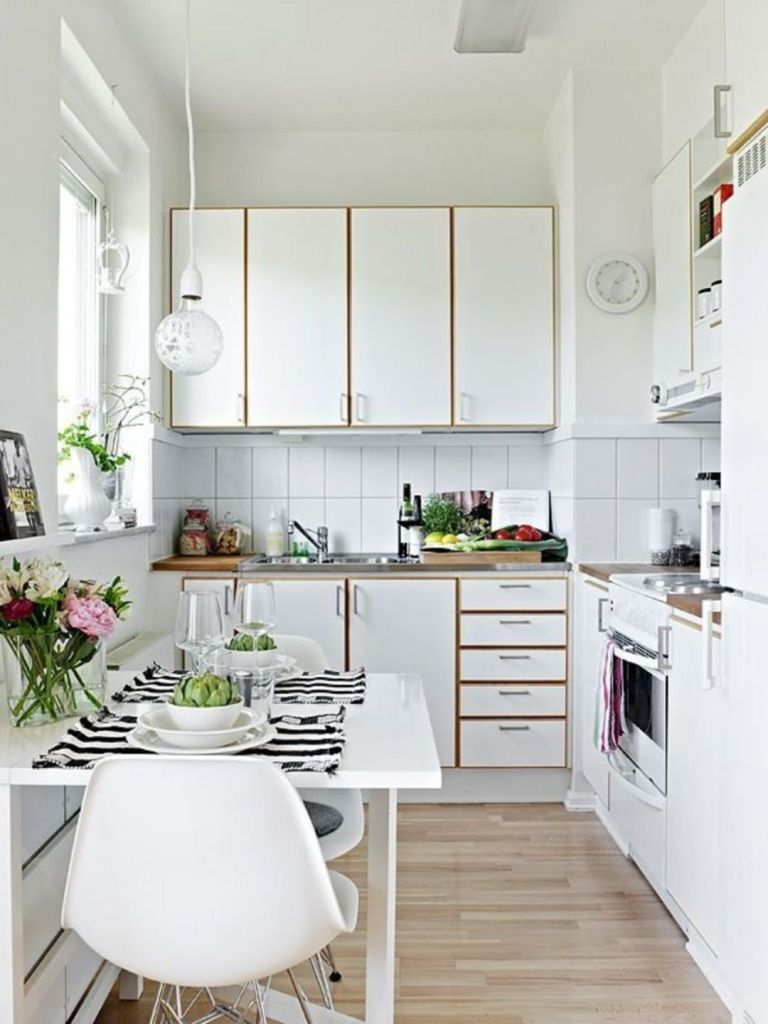 clean kitchen design idea example