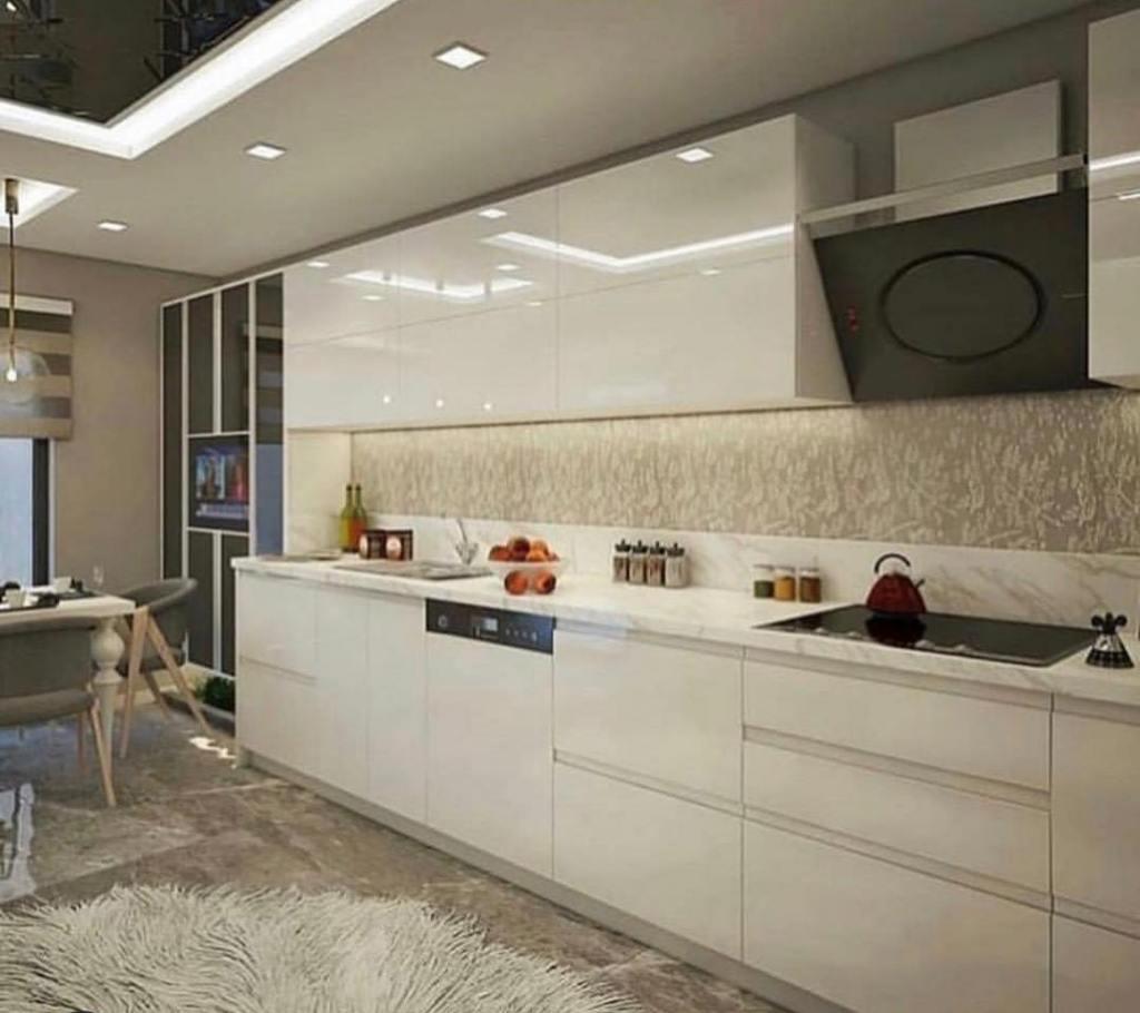 Modern kitchen design for winter