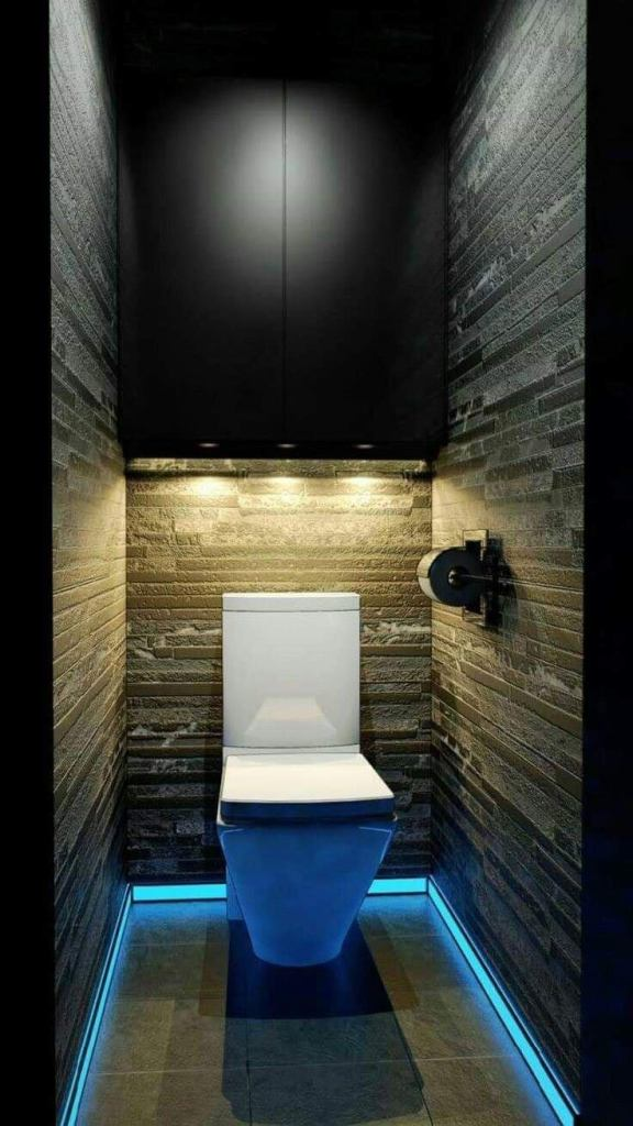 Bathroom lightening idea for home