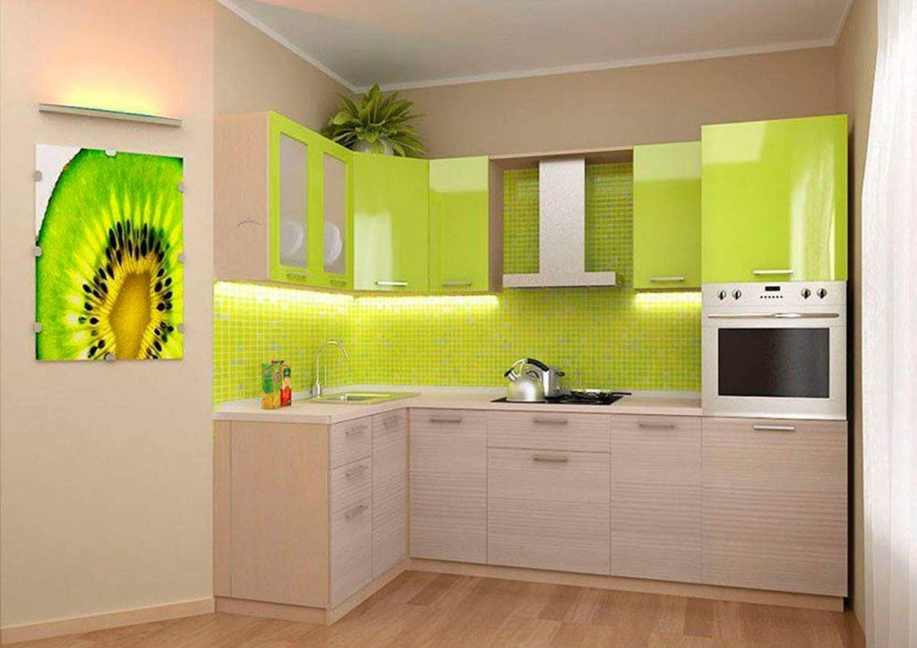 Green interior decor idea