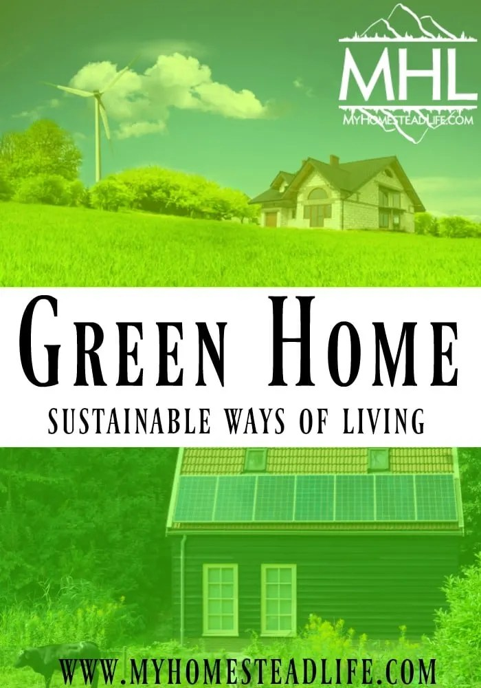 Green Home- Sustainable Ways Of Living