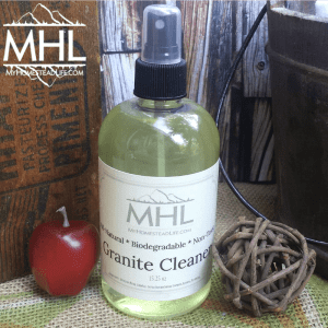 Handcrafted Apple Cinnamon Granite Cleaner by My Homestead Life