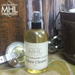 Citrus Kitchen and Multi-Purpose Cleaner is made with natural ingredients and handcrafted by My Homestead Life