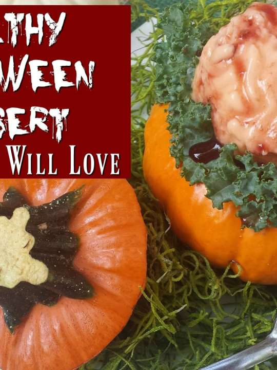 Healthy Halloween Dessert- Your Kids Will Love