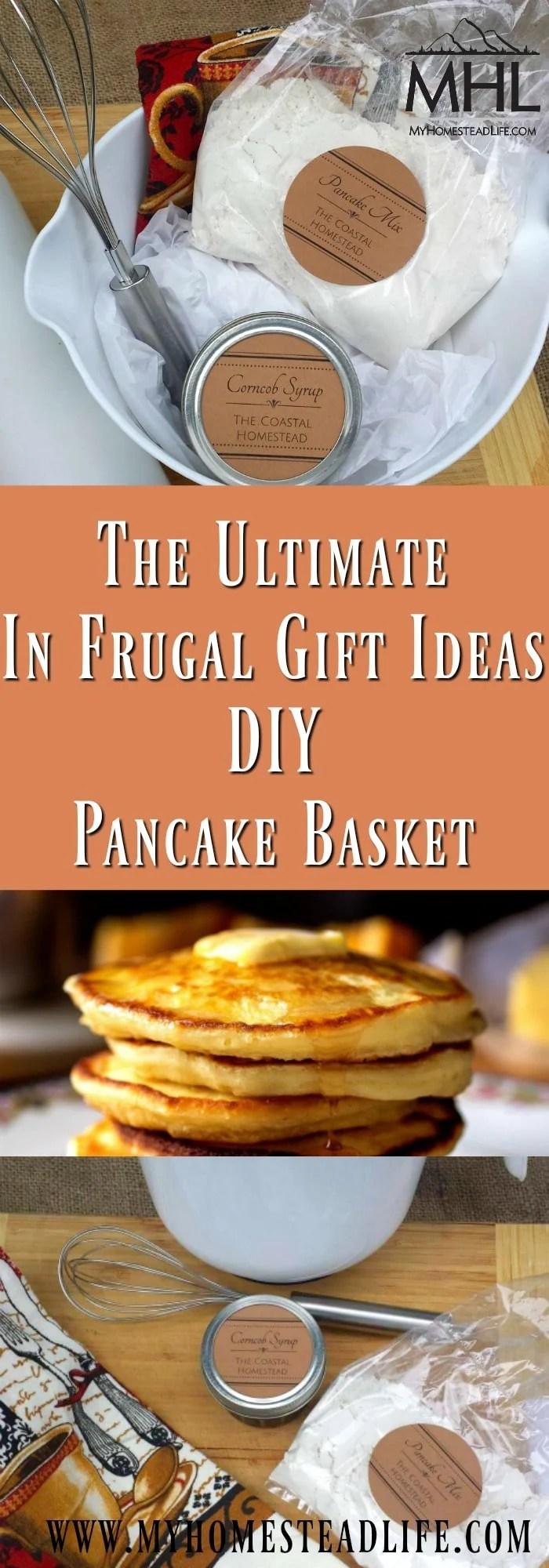 The Ultimate In Frugal Gift Ideas- DIY Pancake Basket