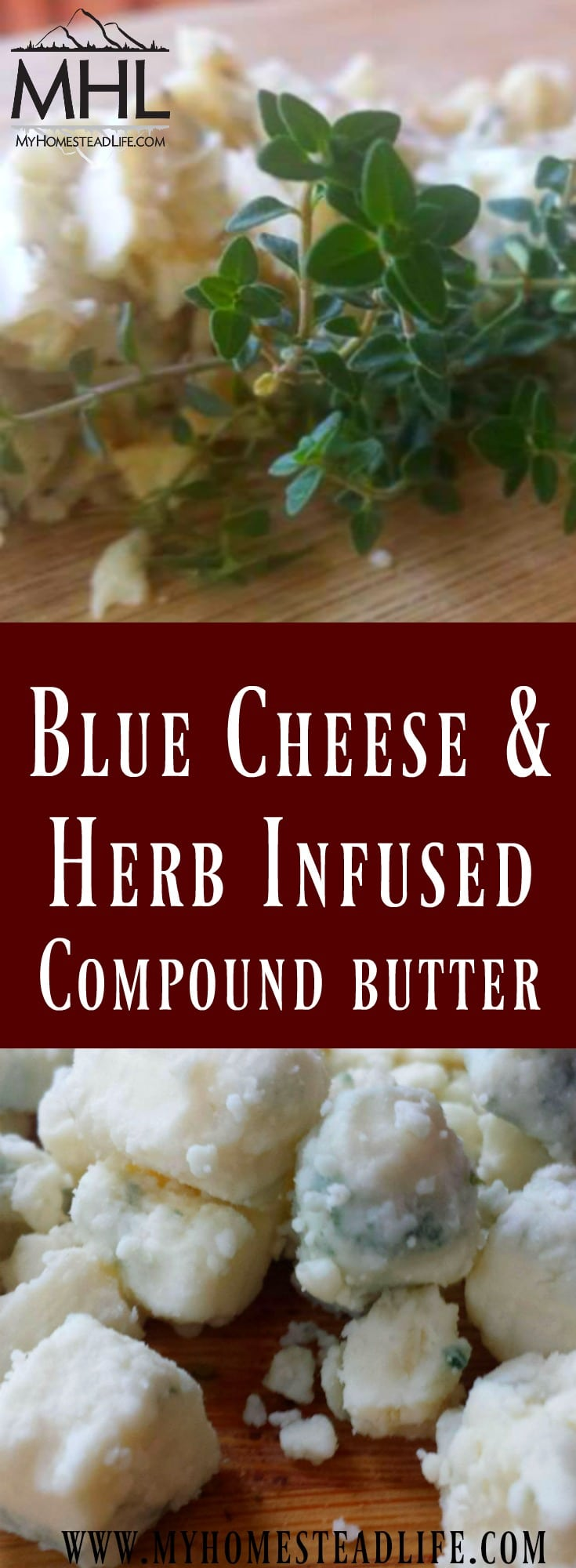Blue Cheese & Herb Infused Compound Butter